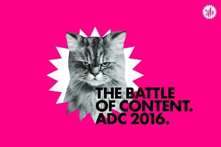 """Die """"Grumpy Cat"""" als Hero Of Content für das ADC Festival 2016 in Hamburg. (Foto: Art Directors Club Deutschland (ADC) e.V.)"""