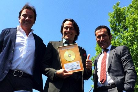 Hermann-Josef Poth (Geschäftsführender Gesellschafter C. Thomsen), Günter Merlau (Geschäftsführer LAUSCH Medien), Markus T. Hofmann (Geschäftsführer C. Thomsen)