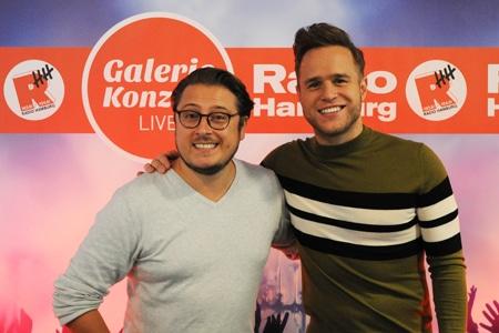Olly Murs bei Radio Hamburg