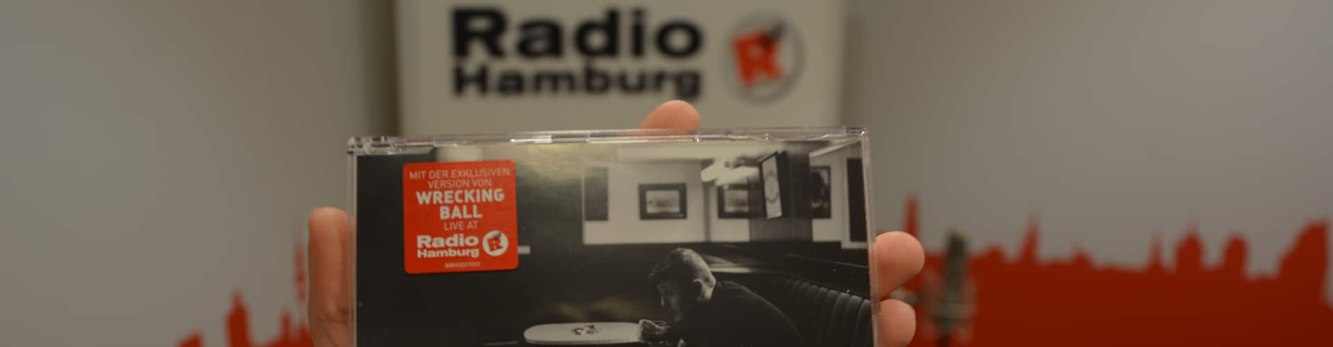 James Arthur CD mit dem Cover-Song aus der Radio Hamburg Live-Lounge.