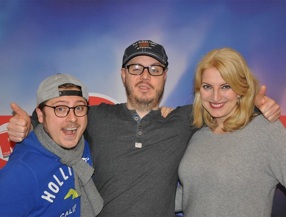 Comedian Buddy Ogün unterstützte die Radio Hamburg Morning Show am Donnerstag (22.12) am Spendentelefon