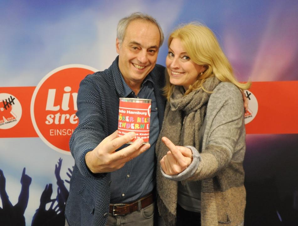TV-Koch Christian Rach hat am Montag (19.12.) die Radio Hamburg Morningshow am Spendentelefon unterstützt