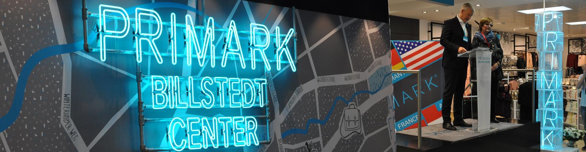 Primark hat einen Shop im Billstedt Center eröffnet.