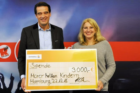 Foto: Radio Hamburg Hörer helfen Kindern/ more Marketing