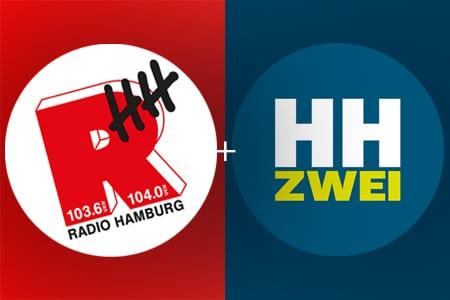 Radio Hamburg und HAMBURG ZWEI sind in Hamburg und Umgebung ein unschlagbares Duo für Radiowerbung.