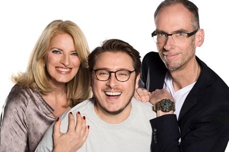 Die Radio Hamburg Morningshow ist für den Deutschen Radiopreis 2017 nominiert Foto: Radio Hamburg/Adele Marschner