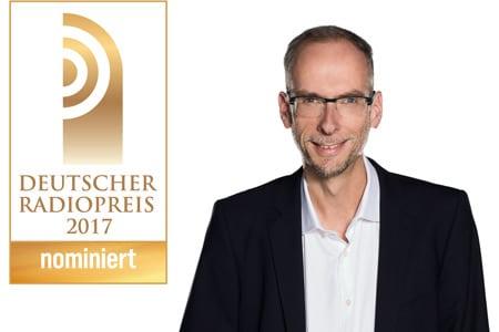 John Ment könnte Deutschlands Bester Moderator werden. Für den Radiopreis ist er bereits nominiert. Foto: Radio Hamburg / Deutscher Radiopreis / Adele Marschner