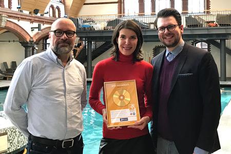 Die Spot des Monats Gewinner aus dem Monat Januar: die Bäderland Hamburg GmbH.