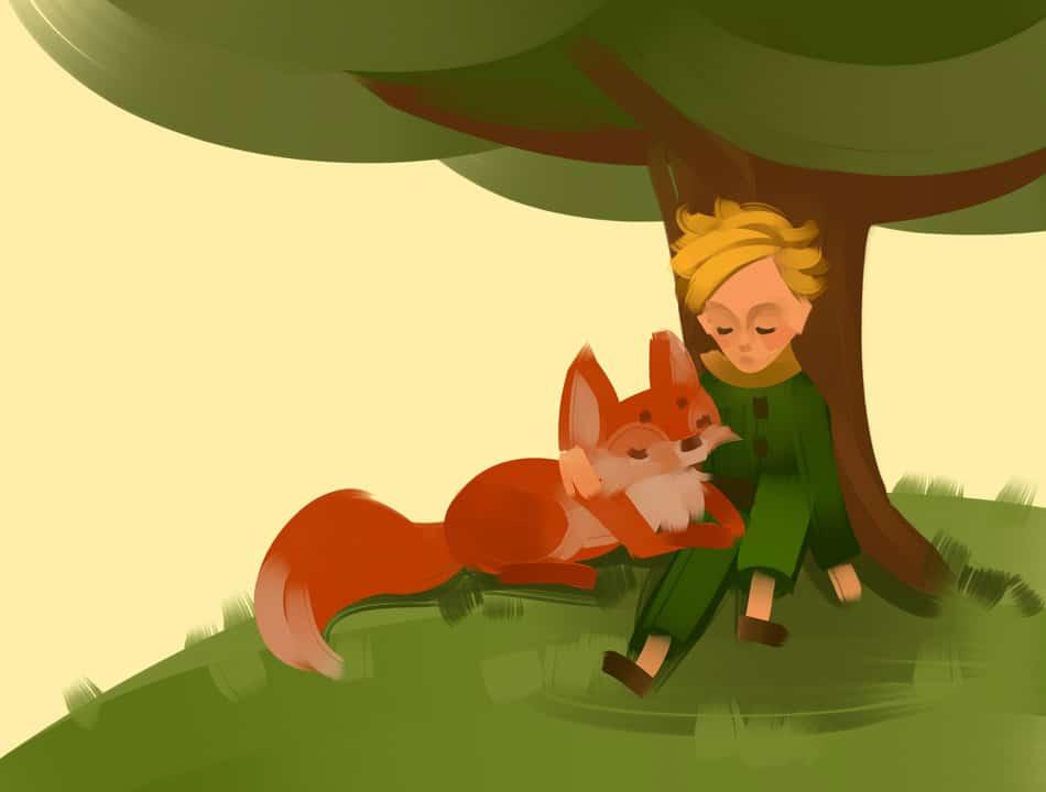"""Der kleine Prinz. Eines der bekanntesten Zitate aus dem beliebten Buch lautet: """"Man sieht nur mit dem Herzen gut. Das Wesentliche ist für die Augen unsichtbar."""""""