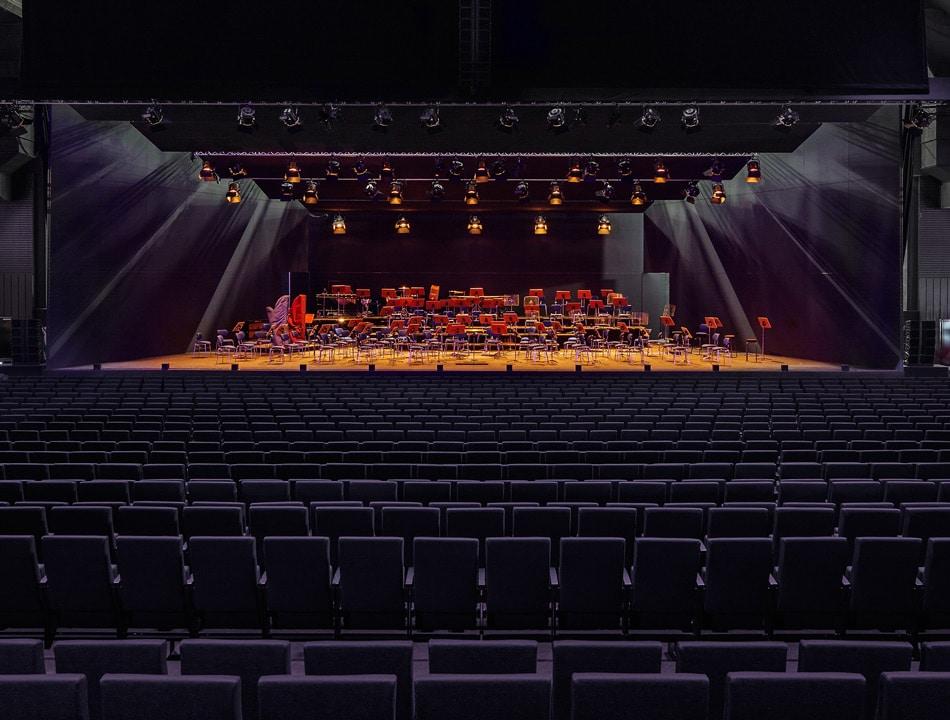 """Das """"Mehr! Theater"""" von Innen Foto: Mehr! Entertainment"""