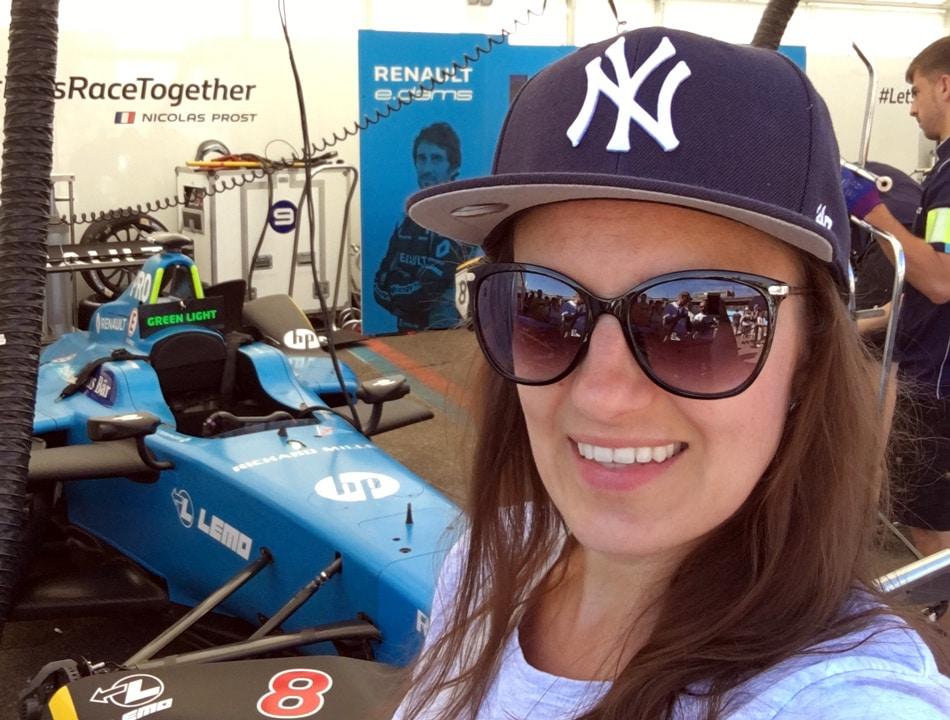 Justine Piper durfte die Gewinner mit dem Renault Zoe begleiten. Foto: J. Piper