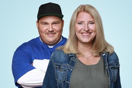 Birgit Hahn und Onni Schlebusch
