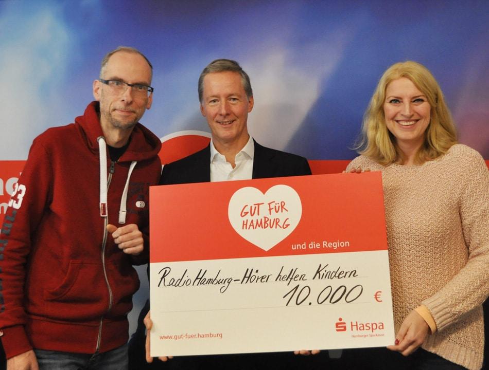HASPA Hamburg 10.000 Euro, HASPA-Vorstand Dr. Harald Vogelsang
