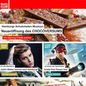 Der Radio Hamburg Newsletter (Foto: Radio Hamburg CLUB)